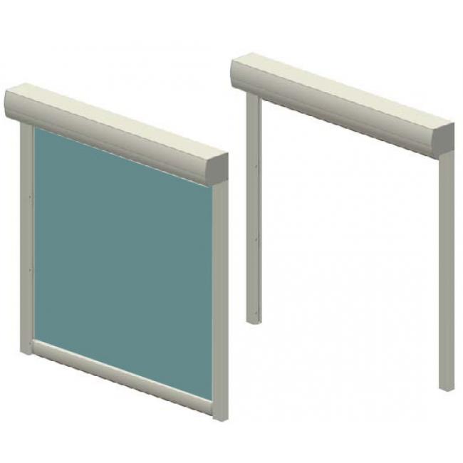 Вертикальные маркизы «ZIP 105/125»